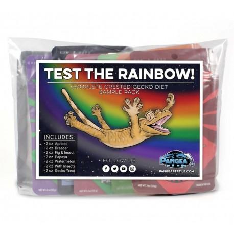 Pangea Test The Rainbow Gecko Diet Sample Pack